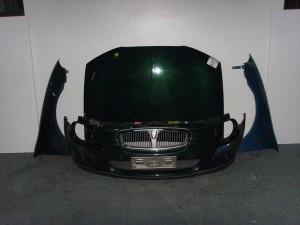 Rover 25 1999-2005 μετώπη-μούρη εμπρός κομπλέ πράσινο