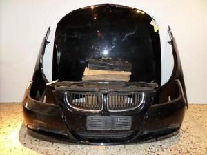 BMW series 3 E90/E91 2005-2008 μετώπη-μούρη εμπρός κομπλέ μαύρο
