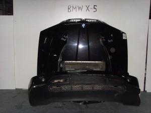 bmw x5 00 06 metopi empros komple mavro 300x225 BMW X5 E53 2000 2004 μετώπη μούρη εμπρός κομπλέ μαύρο
