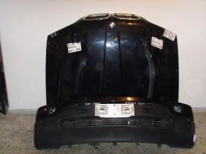 BMW X5 E53 2000-2004 μετώπη-μούρη εμπρός κομπλέ μαύρο