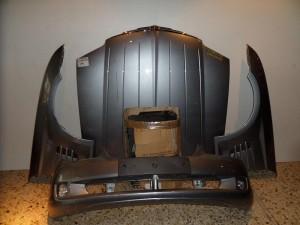 Chrysler crossfire 2003-2008 μετώπη εμπρός κομπλέ ασημί