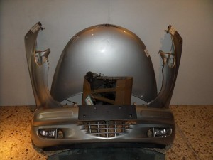 Chrysler pt 01-08 μετώπη εμπρός κομπλέ ασημί