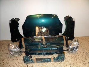 daihatsu sirion 01 06 metopi empros komple prasino 300x225 Daihatsu sirion 1998 2004 μετώπη μουρη εμπρός κομπλέ πράσινο