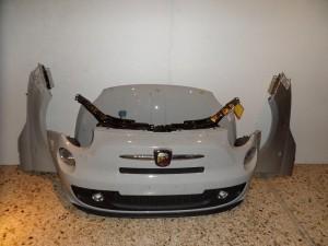 Fiat 500 Abarth 2007-2012 μετώπη-μούρη εμπρός κομπλέ γκρί ανοιχτό