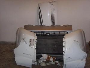 Fiat Ducato 06-12 μετώπη εμπρός κομπλέ άσπρο