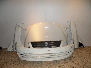 Fiat multipla 2004-2010 μετώπη-μούρη εμπρός κομπλέ λευκο