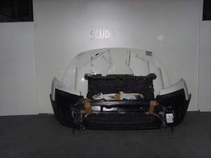 Fiat scudo 2007-2016 μετώπη-μούρη εμπρός κομπλέ άσπρο