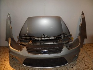 Ford c-max 07-10 μετώπη εμπρός κομπλέ ασημί