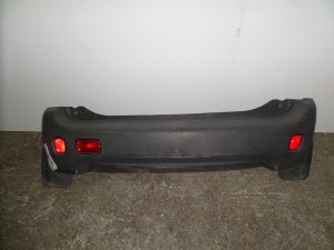 Hyundai atos 97-00 πίσω προφυλακτήρας άβαφτο