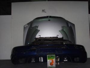 mercedes ml w163 98 05 metopi empros komple asimi 300x225 Mercedes ML w163 1998 2002 μετώπη μούρη εμπρός κομπλέ ασημί