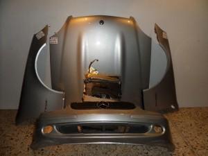Mercedes slk lift Α170 2001 μετώπη εμπρός κομπλέ ασημί