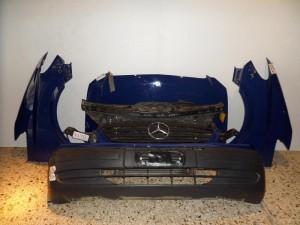 Mercedes vito w639 μετώπη εμπρός κομπλέ μπλέ