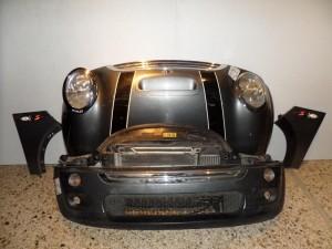 mini cooper s 03 06 metopi empros komple asimi skouro 300x225 Mini Cooper S 2004 2006 μετώπη μούρη εμπρός κομπλέ ασημί σκούρο