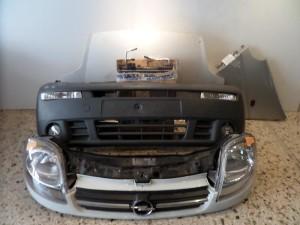 Opel vivaro Ι μετώπη εμπρός κομπλέ άσπρο