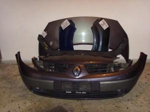 renault scenic 02 07 300x225 Renault Scenic 2003 2006 μετώπη μούρη εμπρός κομπλέ μόβ