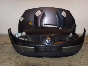 Renault Scenic 2003-2006 μετώπη-μούρη εμπρός κομπλέ μπλέ-μώβ