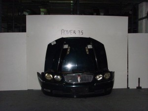 Rover 75 1999-2005 μετώπη-μούρη εμπρός κομπλέ μαύρο