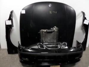 saab 9 5 05 metopi empros komple mavro 300x225 Saab 9 5 1998 2005 μετώπη μούρη εμπρός κομπλέ μαύρο