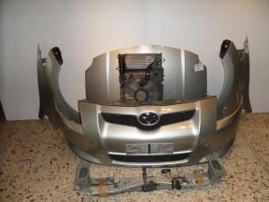 toyota auris 07 10 diesel metopi empros komple asimi 300x225 Toyota auris 2007 2010 Diesel μετώπη μούρη εμπρός κομπλέ ασημί