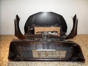 Toyota Yaris 2012 Καπό εμπρός κομπλέ μαύρο