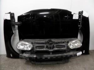 VW Golf 4 1998-2004 μετώπη-μούρη εμπρός κομπλέ μαύρο