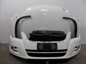 VW Tiguan 2007-2011 μετώπη-μούρη εμπρός κομπλέ λευκό