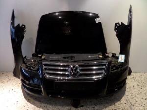 VW touareg 2003-2007 μετώπη-μούρη εμπρός κομπλέ μαύρο