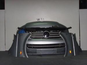 VW Transporter t5 2003-2010 μετώπη-μούρη εμπρός κομπλέ γαλάζιο