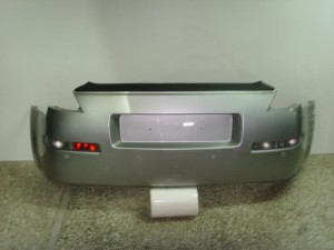 Nissan 350z 03-08 πίσω προφυλακτήρας ασημί