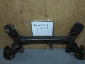 Peugeot 207 cc 06 aksonas diskoi 300x225 Peugeot 207 CC 2006 2012 άξονας, δίσκοι