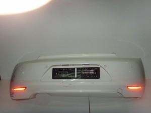 VW sciroco 08 πίσω προφυλακτήρας άσπρο