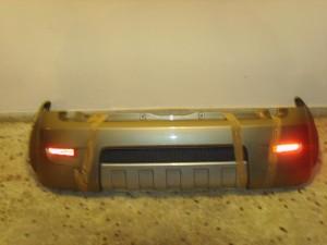 Fiat panda cross 4x4 2006-2011 πίσω προφυλακτήρας χρυσαφί