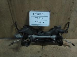 Toyota Yaris 2011-2014 γέφυρα όχι ψαλίδια