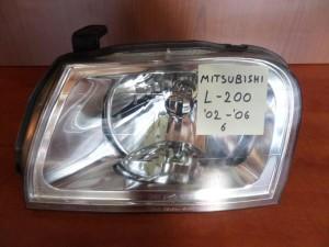 Mitsubishi L200 02-06 φανάρι εμπρός αριστερό