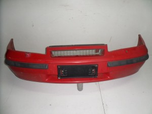 Opel calibra 1989-1997 προφυλακτήρας εμπρός κόκκινος