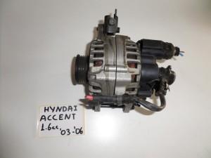 Hyundai accent 1.6cc 03-05 δυναμό