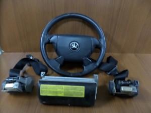 Mercedes clk w208 1997-2000 airbag μαύρο