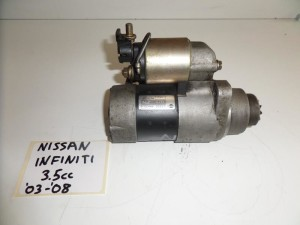 Nissan Infiniti 3.5cc 2003-2007 βενζίνη μίζα