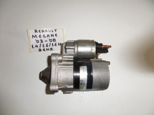 Renault Megane 2002-2008 1.4 k 1.6cc βενζίνη μίζα