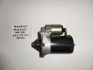 Renault modus 05-08 1.2cc 16v k 1.2cc βενζίνη μίζα