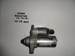 Skoda fabia roomster βενζίνη μίζα