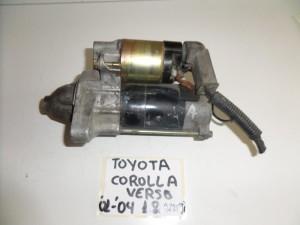 Toyota corolla verso 01-04 1.8cc VVTi βενζίνη μίζα