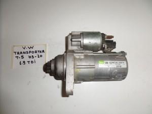 VW transporter T5 03-10 1.9cc TDi μίζα