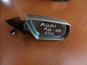 audi a6 03 all road ilektrikos anaklinomenos kathreptis dexios asimi skouro 10 kalodia 300x225 Audi A6 2002 2004 all road ηλεκτρικός ανακλινόμενος καθρέπτης δεξιός ασημί σκούρο (10 καλώδια)