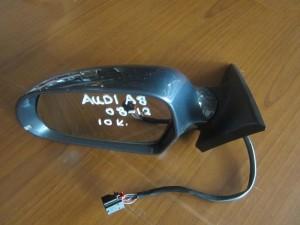 Audi A8 2010-2017 καθρέπτης αριστερός γκρί σκούρο (10 καλώδια)