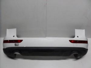 Audi Q7 06-10 πίσω προφυλακτήρας άσπρος