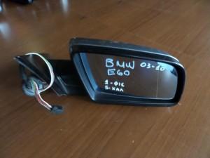 BMW E60 03-10 ηλεκτρικός καθρέπτης δεξιός ασημί σκούρο (5 καλώδια-1 φίσα)
