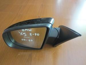 BMW X5 E70 07-10 ηλεκτρικός ανακλινόμενος καθρέπτης αριστερός μαύρος (3 ακίδες)