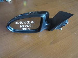 Chevrolet cruze 09 ηλεκτρικός καθρέπτης αριστερός μαύρος (5 ακίδες)
