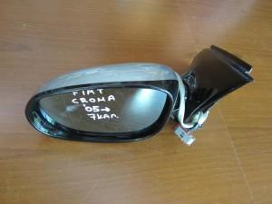 Fiat croma 05 ηλεκτρικός καθρέπτης αριστερός ασημί (7 καλώδια-γυαλιστερό πλαίσιο)